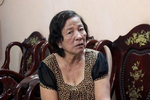 Bà Huỳnh Thị Sinh hiện tại