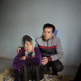 Bà Nguyễn Thị Nhơn, 83 tuổi, mẹ liệt sỹ Đào Xuân Tư (Nghi Lộc, Nghệ An). Ảnh chụp sáng 23-2-2014.